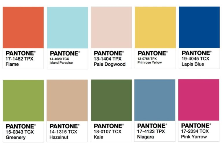 Look with the Color of Pantone Fashion 2016